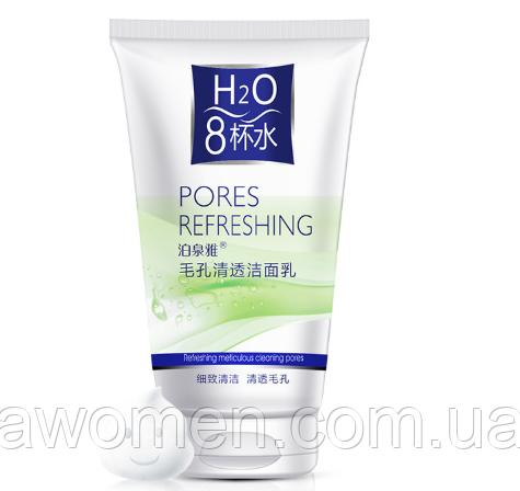 Пенка для умывания Bioaqua H2O Pores Refreshing (очистка пор) 100 g