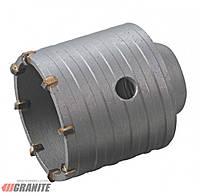 Сверло корончатое для бетона, диаметр 75 мм, высота 60 мм