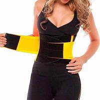Пояс для похудения Hot Shapers Power Belt утягивающий на липучке Размер XXL