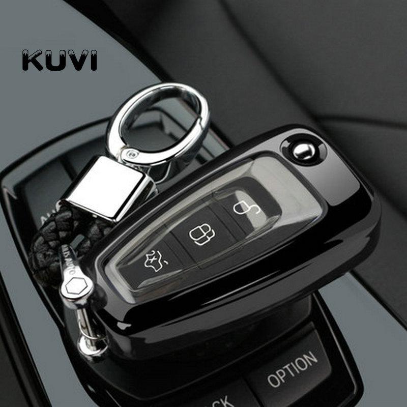 Чехол  для ключа Ford fiesta,B/C/S-max,Focus,Kuga,Edge,Mondeo, Mustang,F150,fusion,Explorer,Taurus