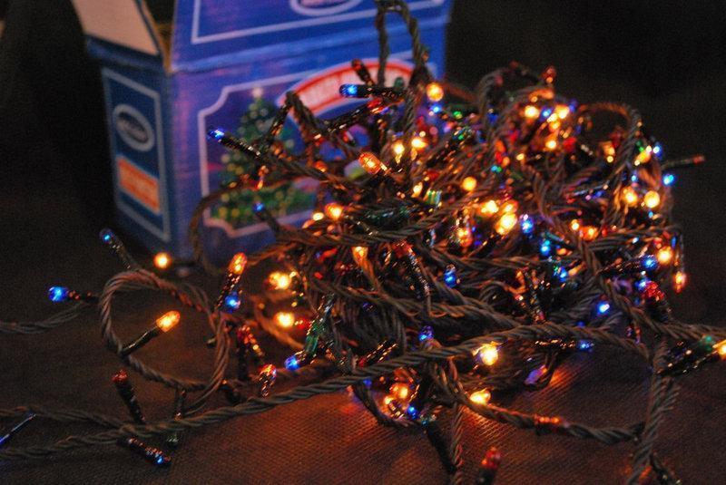 Новогодняя гирлянда 400 лампочек на черном проводе