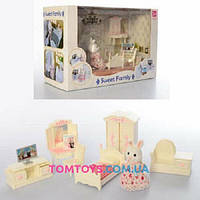 Набор мебели Спальня с фигуркой Sweet family 1606F
