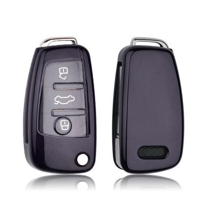 Полиуретановый чехол для ключа Audi A1,A3,A4,A5,A6,A6 ALLROAD QUATTRO,A7,A8,Q2,Q3,Q5,Q7,Q8,R8,RS Q3,RS3,RS4