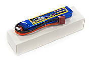 Аккумулятор для страйкбола Giant Power Li-Pol 7.4V 2S 1300mAh 25C 16х20х103мм T-Plug, фото 2