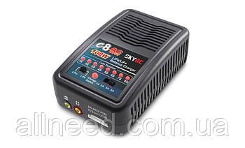 Зарядное устройство SkyRC E8 1/3/5/6A с/БП 100W для LiPo 1-8S аккумуляторов (SK-100096)