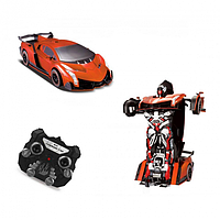 Машина-трансформер с пультом AUTOBOTS Ламборгини Original Красная (M1)