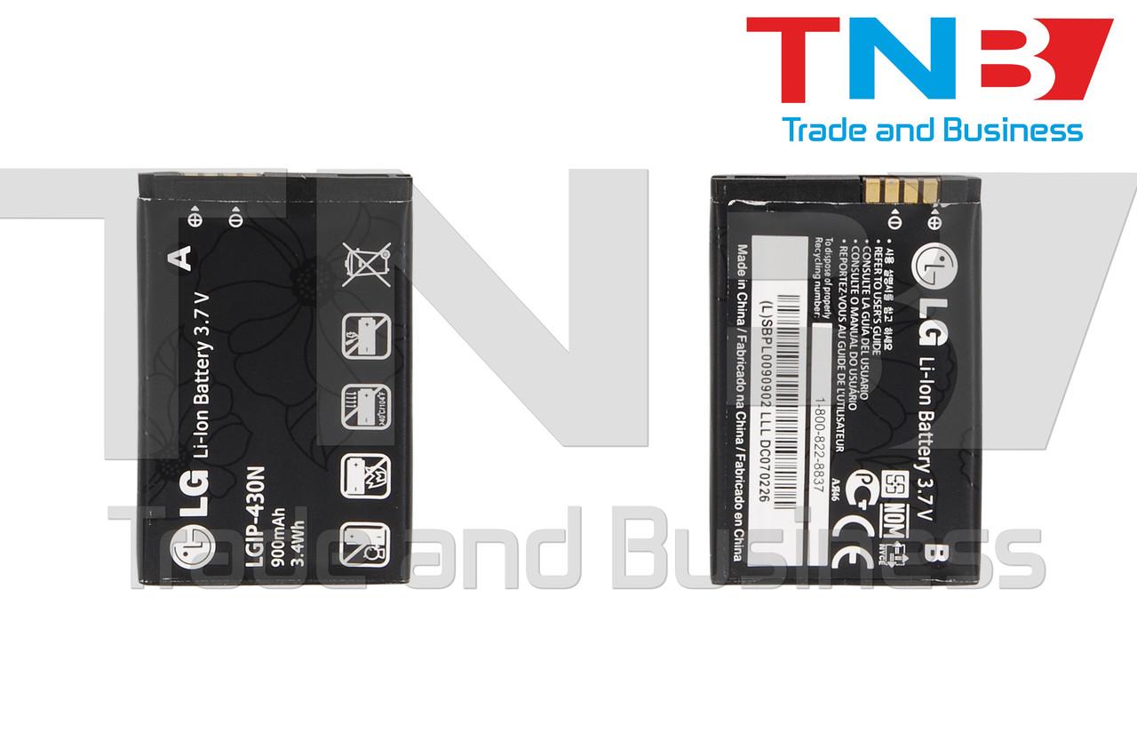 Батарея LG C300 Town, C320 Town Li-ion 3.7V 900mAh ОРИГИНАЛ