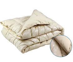 Одеяло Руно шерстяное двуспальное 172x205 Тик 450г/м2 (316.29ШЕУ_Вензель)
