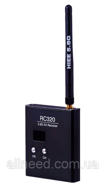 Приёмник видеосигнала HIEE 5.8GHz RC320 32 канала для FPV систем