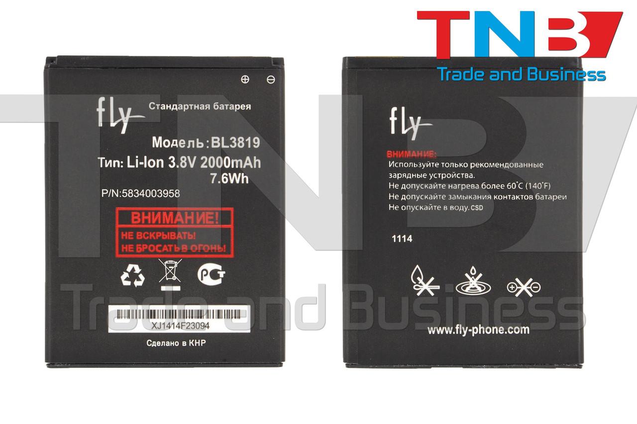 Батарея FLY 5834003958 5834003973 Li-ion 3.8V 2000mAh ОРИГИНАЛ