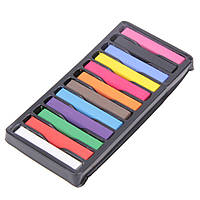 Временная краска для волос мелки пастель 12 цвет
