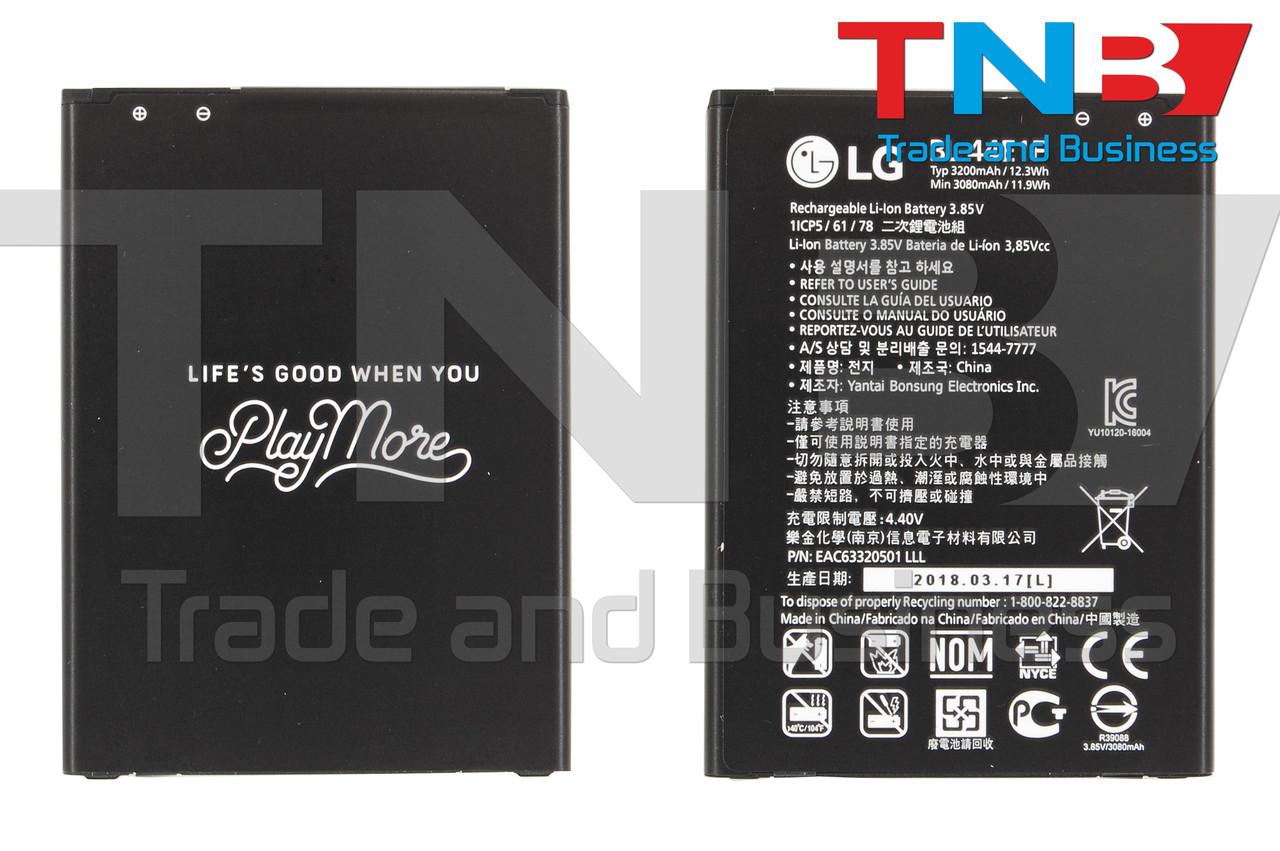 Батарея LG Stylo 3, K10 Pro, Stylus 3 Li-ion 3.85V 3200mAh ОРИГИНАЛ