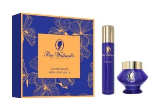 Подарунковий набір Pani Walewska Classic (дезодорант + живильний крем)