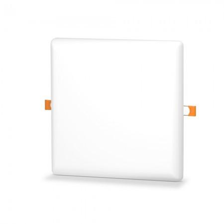 Светодиодный светильник универсальный 24W 5000K квадратный Код.59675