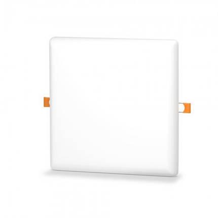 Светодиодный светильник универсальный 24W 5000K квадратный Код.59675, фото 2
