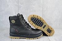 Ботинки подростковые Rivest 25 черные (натуральная кожа, зима), фото 1