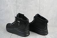 Ботинки мужские Vitex 7002 черные (натуральная кожа, зима), фото 1