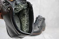 Ботинки мужские Bonis 10/2 черные (натуральная кожа, зима), фото 1