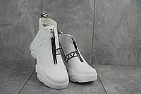 Ботинки женские Best Vak БЖ 46-06 белые (натуральная кожа, зима), фото 1