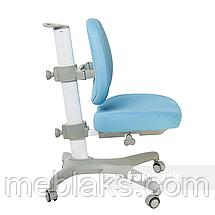 Комплект подростковая парта для школы Ballare Grey + ортопедическое кресло Bello I Blue FunDesk, фото 3