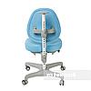 Комплект подростковая парта для школы Ballare Grey + ортопедическое кресло Bello I Blue FunDesk, фото 2