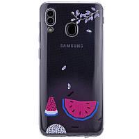 TPU чехол Luxury Diamond full protective для Samsung Galaxy A20 / A30