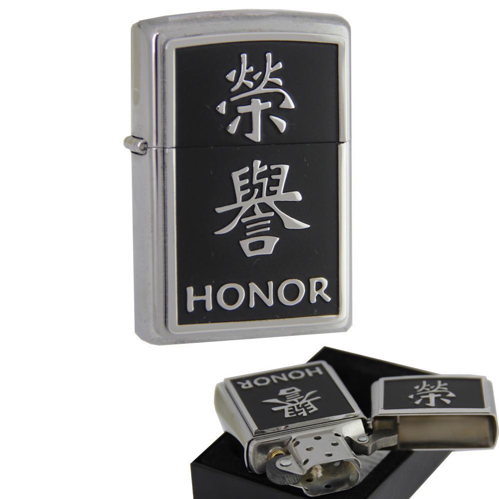 Бензиновая зажигалка Zippo 20332 Honor (Честь).