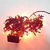 Гирлянда Нить электрическая 100 lamp, мульти, чёрный провод, 3,3м., фото 3