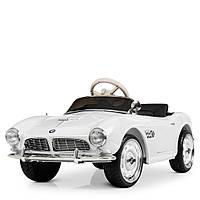 Детский электромобиль Ретро BMW M 4169EBLR-1 белый