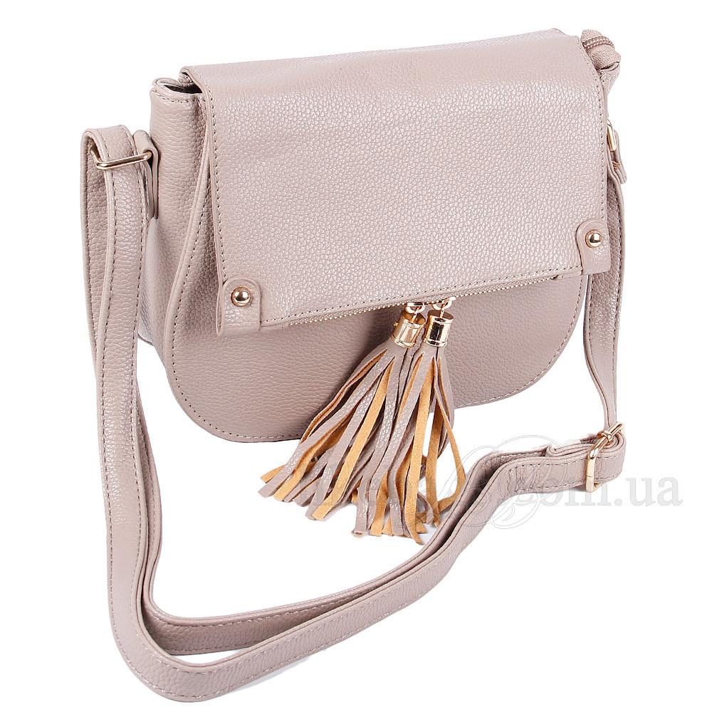 Наплечная сумка женская редкая 408316С
