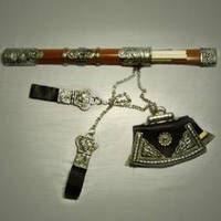 Сувенирный самурайский набор (меч и аксессуары) MS228850