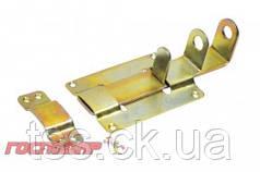 Господар  Засов дверной плоский 155*75 мм оцинкованный, Арт.: 92-0170