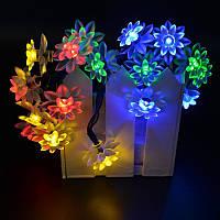 Новогодняя светодиодная гирлянда Лотос ( Мультицвет )