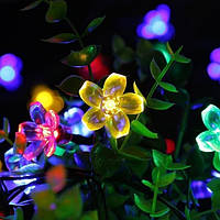 Новогодняя светодиодная гирлянда Сакура 10метров