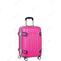 Стильный пластиковый чемодан на колесах, маленький SM51018319