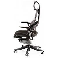 Кресло Special4You WAU BLACK FABRIC, CHARCOAL NETWORK (E0789)