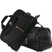 Комплект водонепроницаемый дорожных сумок на колесах Bonner 2в1