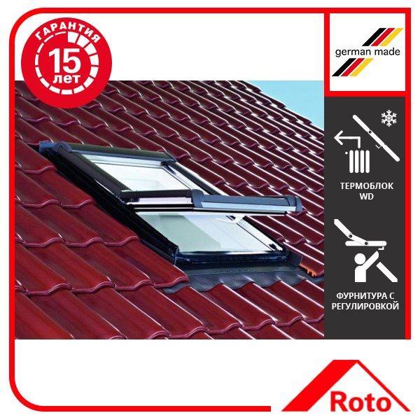 Вікно мансардне Designo WDF R45 K W AL 11/11