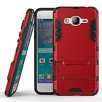 Чехол Iron для Samsung J2 Prime / G532F противоударный бампер Red
