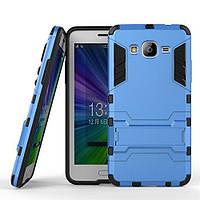 Чехол Iron для Samsung J2 Prime / G532F противоударный бампер Blue
