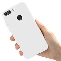 Чехол Style для Huawei P Smart 2018 / FIG-LX1 Бампер силиконовый Белый