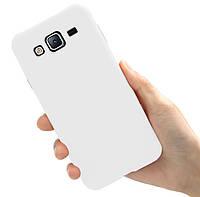 Чехол Style для Samsung J3 2016 / J320 Бампер силиконовый Белый Matte