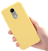 Чехол Style для Xiaomi Redmi Note 4X / Note 4 Global Version Бампер силиконовый Желтый