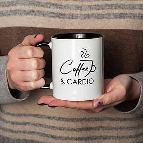 """Кружка """"Coffee and cardio"""", фото 2"""