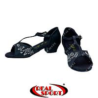 Туфли бальные для девочек F-Dance ET7009-BK