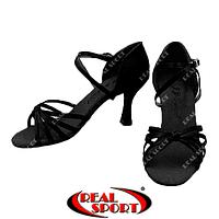 Туфли для латины F-Dance LD2079-BK