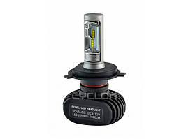 Светодиодные лампы CYCLONE LED H4 HI/LOW 5000K 4000LM TYPE 9A (1 шт)