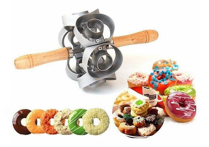 Приспособление Форма для Пончиков Donut Cutter Скалка