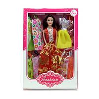 Кукла с нарядом, платье 8шт