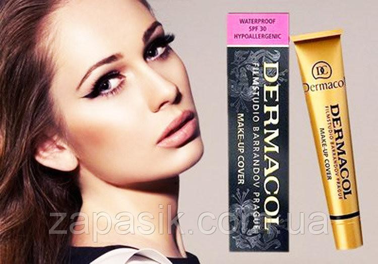 Тональный Крем DERMACOL Make-Up Cover Универсальное Маскирующее Средство